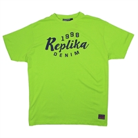 Replika 61916 Logo Tee Shirt-big-mens-clearance-Beggs Big Mens Clothing - Big and Tall Men's fashionable clothing and shoes