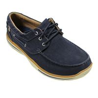 Skecher 64866 Canvas Upper Boat Shoe-big-mens-footwear-Beggs Big Mens Clothing - Big and Tall Men's fashionable clothing and shoes