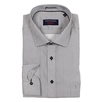Casa Moda 92500 Easy Care Cross Hatch Cotton Shirt -casa-moda-Beggs Big Mens Clothing - Big and Tall Men's fashionable clothing and shoes
