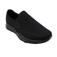 Skechers 51509 Double Play Wide Fit Slip On-big-mens-footwear-Beggs Big Mens Clothing - Big and Tall Men's fashionable clothing and shoes
