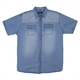 Replika 71354 Short Sleeve 2 Pocket Cotton Shirt