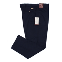 Innsbrook 410A595 EziWaist Cotton Chino Pant 77 Inleg Navy-big-mens-casual-trousers-Beggs Big Mens Clothing - Big and Tall Men's fashionable clothing and shoes