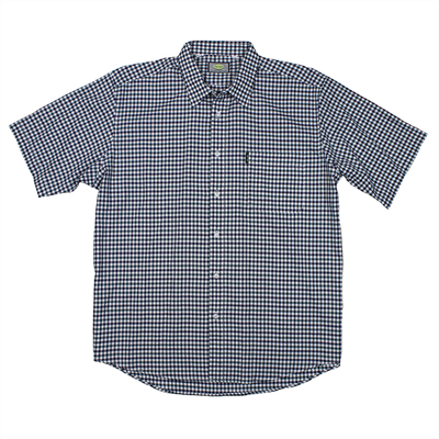 Aertex 88736 Cellular Cotton Check SS Shirt