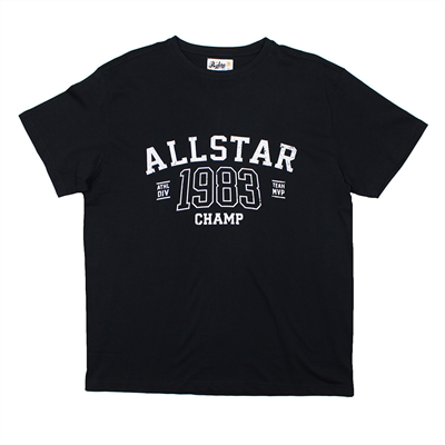 Replika 71389 Cotton All Star 1983 Champ Print Tee