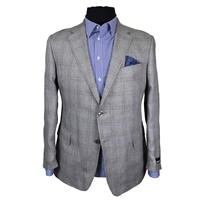 Rembrandt BS4580 Italian Woven Pure Linen Fashion Jacket-shop-by-brands-Beggs Big Mens Clothing - Big and Tall Men's fashionable clothing and shoes