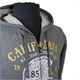 Kam Speedway California Riders Print Cotton Poly Hoodie Sweat