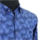Campione 7818307 Cotton Stretch Print  Button Down Collar LS Shirt