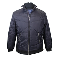 Replika 73373 Puffer Style Bomber Jacket-shop-by-brands-Beggs Big Mens Clothing - Big and Tall Men's fashionable clothing and shoes