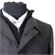 Rembrandt BT4385 Wool Mix Zip & Button Front Car Coat