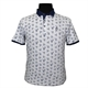 Campione 1095401 Cotton Stretch Fashion Print Polo with Trim Detail