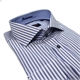 Casa Moda 3829529 Pure Cotton Stripe Pattern Modern Collar Style Shirt