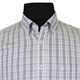 Casa Moda 9828951 Pure Cotton Multi Check Buttondown Collar Fashion Shirt