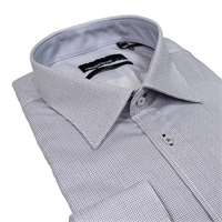 Rembrandt VSF9555 Pure Cotton Classic Mini Check Shirt-shop-by-brands-Beggs Big Mens Clothing - Big and Tall Men's fashionable clothing and shoes