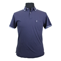 North 56 81141 Pique Cotton with Trim Collar Pocket Polo-shop-by-brands-Beggs Big Mens Clothing - Big and Tall Men's fashionable clothing and shoes