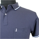 North 56 81141 Pique Cotton with Trim Collar Pocket Polo
