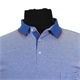 North 56 81143 Cotton Marl Weave Pocket Polo with Trim