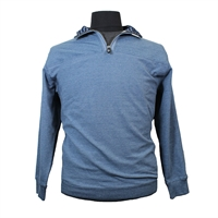 Kam 716 Cotton Rich Quarter Zip Cotton Rich Sweat Top-shop-by-brands-Beggs Big Mens Clothing - Big and Tall Men's fashionable clothing and shoes