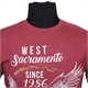Kam 5230 Cotton Mix West Sacramento Eagles Print Tee