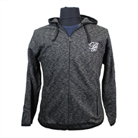D555 16154 Cotton Rich D555 Logo Full Zip Hoodie-shop-by-brands-Beggs Big Mens Clothing - Big and Tall Men's fashionable clothing and shoes