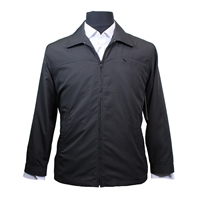 Abstract Cafe 8330 Lightweight Classic Dobby Weave NZ Made Jacket-shop-by-brands-Beggs Big Mens Clothing - Big and Tall Men's fashionable clothing and shoes