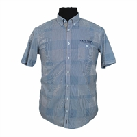 Casa Moda 32134 Pure Cotton Neat Check Buttondown Collar Shirt-shop-by-brands-Beggs Big Mens Clothing - Big and Tall Men's fashionable clothing and shoes