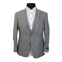 Rembrandt BU3585 Pure Linen Box Weave Jacket-shop-by-brands-Beggs Big Mens Clothing - Big and Tall Men's fashionable clothing and shoes