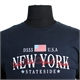 D555 Cotton New York Stateside Print Tee