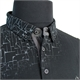 Campione Cotton Stretch Blackout Pattern Fashion Polo