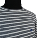 North 56 Global Organic Pure Cotton Wide  Striped Tee Shirt