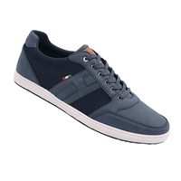 D555 Kairo Casual Lace Up Shoe Navy-shop-by-brands-Beggs Big Mens Clothing - Big and Tall Men's fashionable clothing and shoes