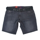 Kam Stretch Denim Fashion Jean Short with Free Belt