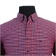 Casa Moda Pure Cotton Small Window Pane Check Shirt