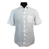 Casa Moda Pure Linen Classic Fashion Shirt-shop-by-brands-Beggs Big Mens Clothing - Big and Tall Men's fashionable clothing and shoes