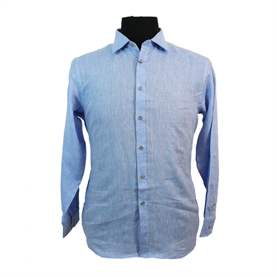 Berlin Limited Edition L648 Pure Linen Classic Fashion Shirt