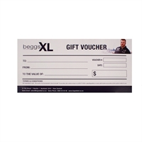 $50 Gift Voucher-gift-vouchers-Beggs Big Mens Clothing - Big and Tall Men's fashionable clothing and shoes