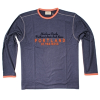 Greyes Carbon Wash LS Tee-big-mens-clearance-Beggs Big Mens Clothing - Big and Tall Men's fashionable clothing and shoes