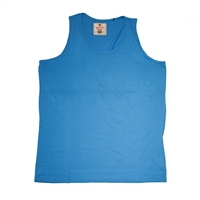 Duks16140 Cotton Singlet-big-mens-underwear-Beggs Big Mens Clothing - Big and Tall Men's fashionable clothing and shoes