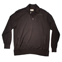 Greyes Half Zip Cotton Sweater-shop-by-brands-Beggs Big Mens Clothing - Big and Tall Men's fashionable clothing and shoes
