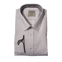 Casa Moda 29700 Non Iron Stripe LS Shirt-big-mens-business-shirts-Beggs Big Mens Clothing - Big and Tall Men's fashionable clothing and shoes