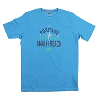 Casa Moda 18000 Amalfi Beach Tee-big-mens-clearance-Beggs Big Mens Clothing - Big and Tall Men's fashionable clothing and shoes