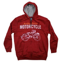 KBS 788 Motorcycle Hoodie-shop-by-brands-Beggs Big Mens Clothing - Big and Tall Men's fashionable clothing and shoes
