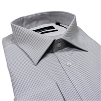Rembrandt SZ95  Cotton Houndstooth Shirt-shop-by-brands-Beggs Big Mens Clothing - Big and Tall Men's fashionable clothing and shoes