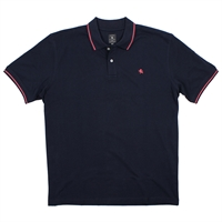 Kitaro 68542 Pique Cotton Logo Polo-big-mens-clearance-Beggs Big Mens Clothing - Big and Tall Men's fashionable clothing and shoes